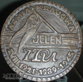 090. 7 Pułk Ułanów Armii Krajowej-Jeleń