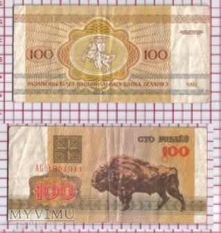 100 rubli - Białoruś