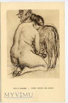 Chavannes - Akt z kozą