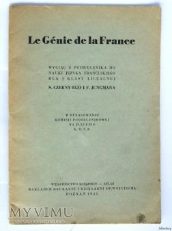 Le genie de la France 1945