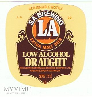 adelaide low alcohol draught