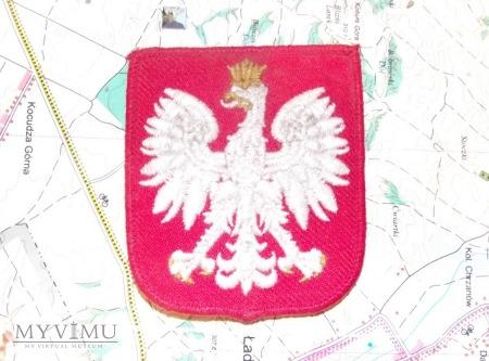 Polska naszywka.