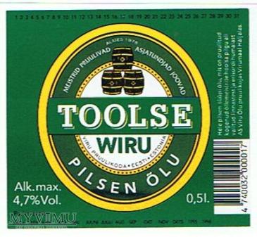 wiru toolse pilsen õlu