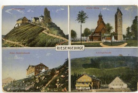 Duże zdjęcie Karkonosze - Riesengebirge - AD 1900