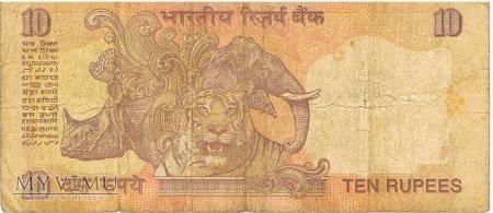 10 rupi indyjskich