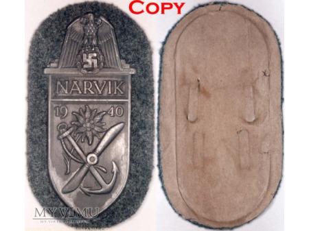Tarcza Naramienna Narwik Narvikschild