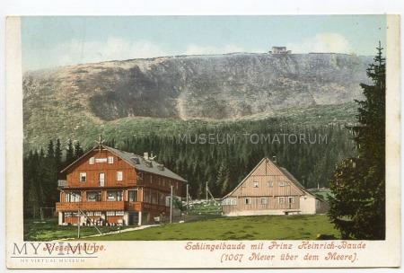 Karkonosze - Schlingelbaude - lata 20-te XX w.