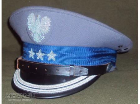 Czapka komendanta wojewódzkiego MO