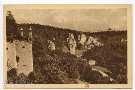 Pieskowa Skała bastion południowy - 1952