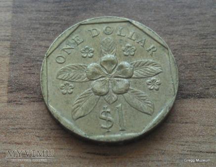 1 Dollar-Singapur 1988