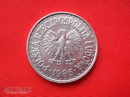 1 złoty 1985 rok