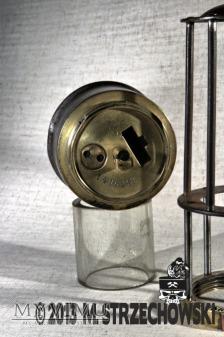 Górnicza lampa benzynowa Friemann & Wolf