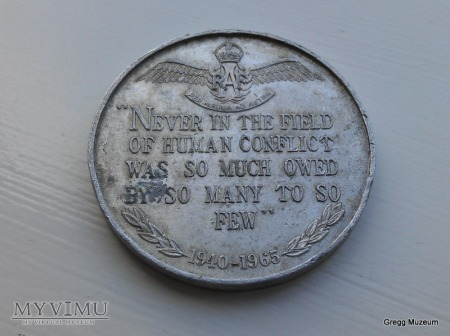 Medal pamiątkowy Bitwa o Anglię 1940 - 1965