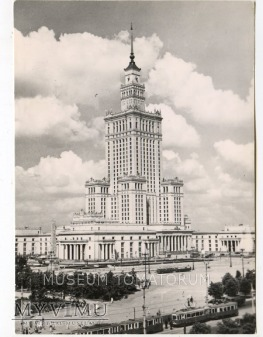 W-wa - Pałac Kultury i Nauki - 1961