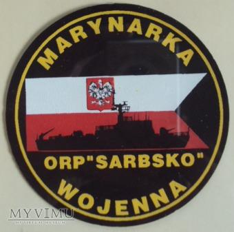 Oznaka pamiątkowa ORP SARBSKO