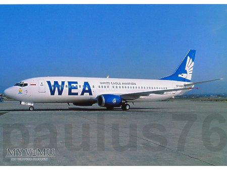 Boeing 737-4K5, SP-KEK, WEA