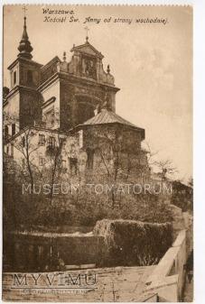 W-wa - Kościół św. Anny od skarpy - 1920/1930