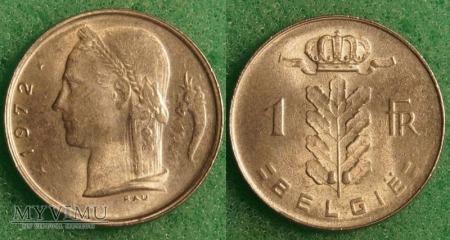 Belgia, 1 Franc 1972