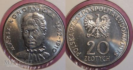 1978, 20 zł
