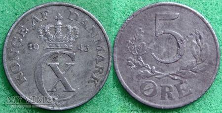 Dania, 5 Øre 1943