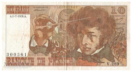Francja - 10 franków (1976)