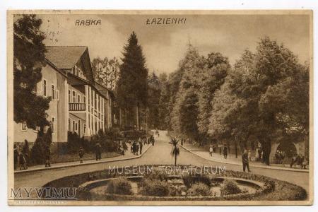 Rabka 1931. Łazienki