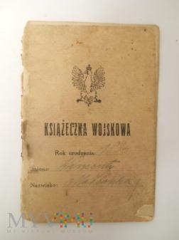Książeczka wojskowa 3 p.p.l./ 2 p.s.p.
