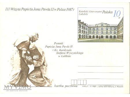 III WIZYTA PAPIEŻA JANA PAWŁA II W POLSCE 1987 6