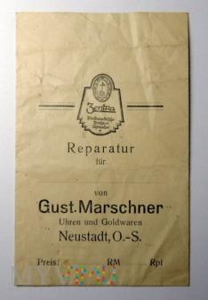 Papierowe opakowanie G. Marschner Neustadt