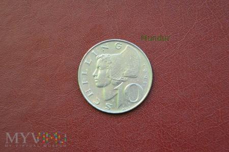 Moneta austriacka: 10 schilling