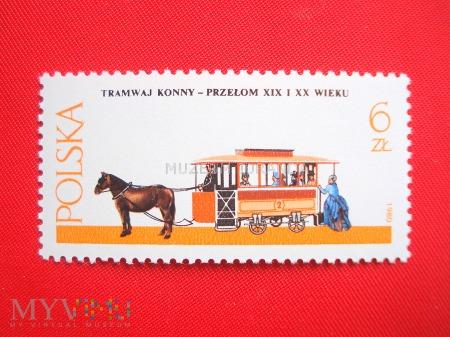 Tramwaj konny - przełom XIX i XX wieku