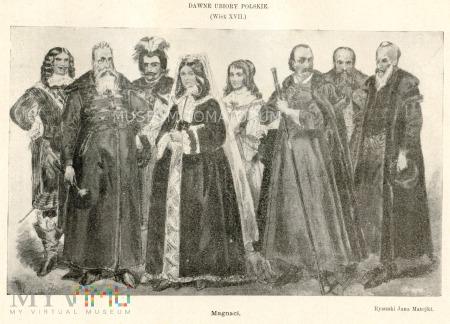 Matejko - Ubiory polskie z XVII w. Magnaci