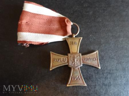 Duże zdjęcie Krzyż Walecznych: 1946-1950 - Tombak: L7.