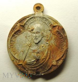 Medalik Pan Jezus i Maryja z dzieciątkiem