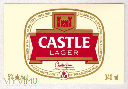 South Africa, castle lager