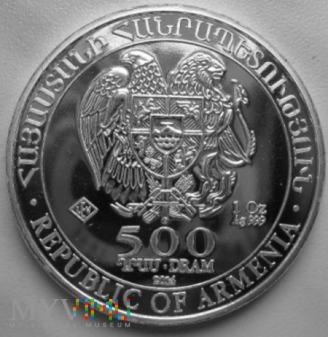 500 dram - 2014 r. Armenia