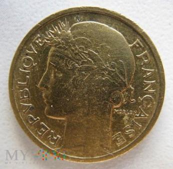 Duże zdjęcie 50 centymów 1939 r. Francja