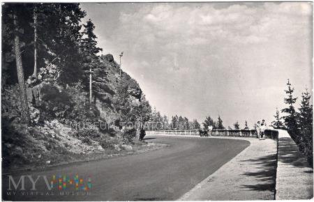 Karkonosze - Zakręt śmierci - 1958