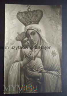 Matka Boska - kartka pocztowa