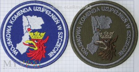 Wojskowa Komenda Uzupełnień w Szczecinie.