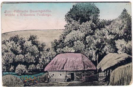 Widoki z Królestwa Polskiego - 1918