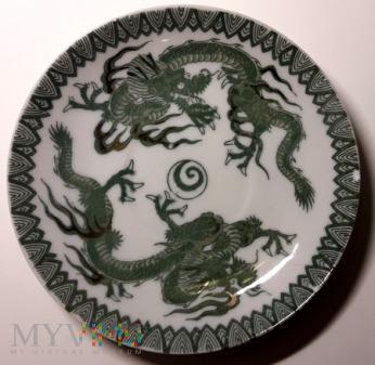 Porcelanowy talerzyk
