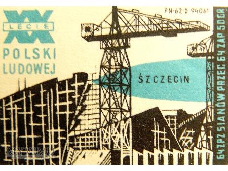 XX-LECIE PRL SZCZECIN