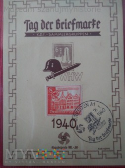 Tag der Briefmarke WHW 1940