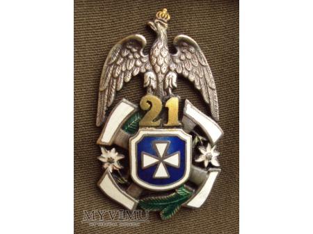 Odznaka 21 Brygady Strzelców Podhalańskich