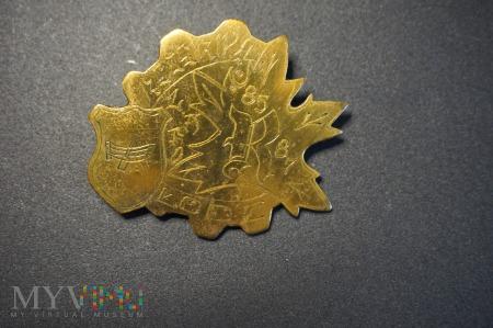 Odznaka Rezerwa 85/87 - Łódz
