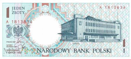 Polska - 1 złoty (1990)