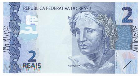 Brazylia - 2 reale (2010)