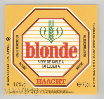 Haacht, Blonde