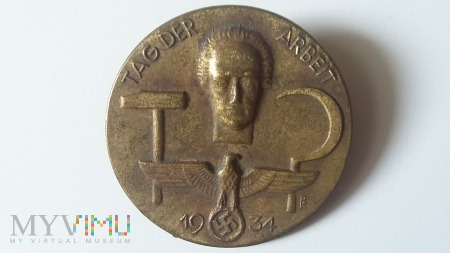 Odznaka TAG DER ARBEIT 1934